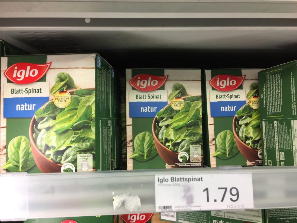 Barf Gemüse Spinat
